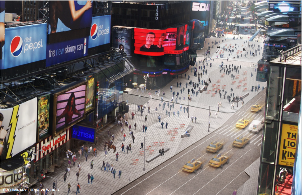 This is a rendering provided by Times Square Alliance (www.timessquarenyc.org/)